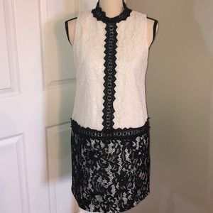 Maggy London lace shift dress